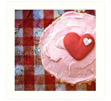 For the love of cupcakes Art Print
