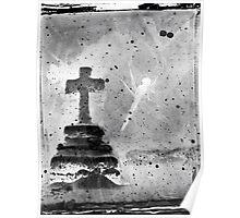 Cross Texture Poster