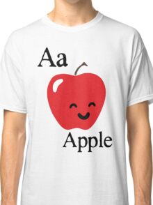 Aa is for Apple Classic T-Shirt
