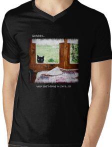 Wonder what...? (Light) Mens V-Neck T-Shirt