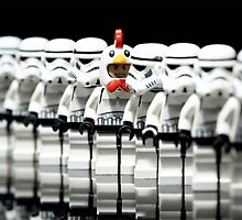 Stormtrooper lego by Jimmy Rivera
