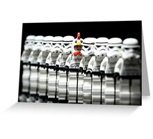 Stormtrooper lego Greeting Card
