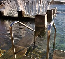 SPLASH - Coogee Ocean Baths by Ian Berry