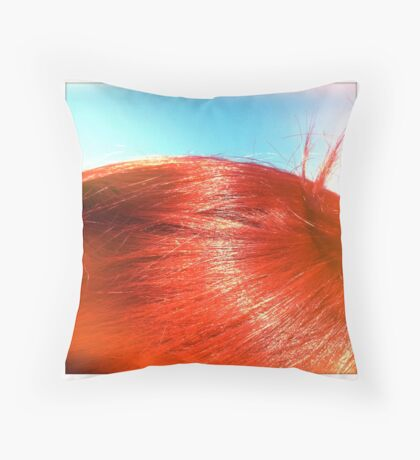 Red Throw Pillow