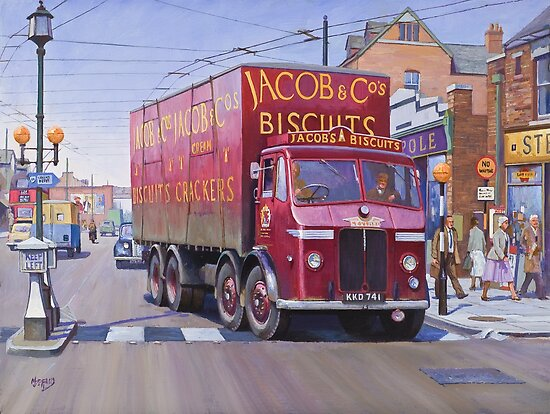 Jacobs' Leyland Octopus by Mike Jeffries