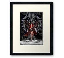 Angel of the Damned Framed Print