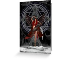 Angel of the Damned Greeting Card