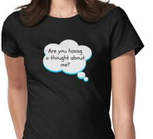 Thought bubble Womens Fitted T-Shirt