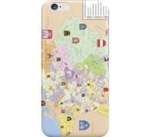 Map of Holy Roman Empire, 1648 iPhone Case/Skin