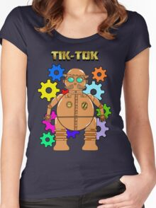 TIK-TOK Of OZ Women's Fitted Scoop T-Shirt