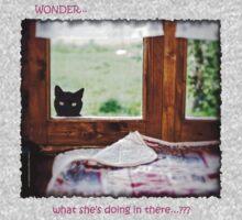 Wonder what...? (Dark) One Piece - Long Sleeve