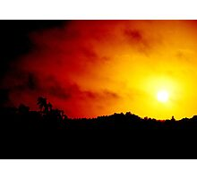 A Burning Heart Photographic Print