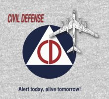 Civil Defense - Bomber by ubiquitoid