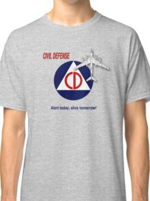 Civil Defense - Bomber Classic T-Shirt