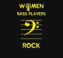 Women Bass Players Rock Womens Fitted T-Shirt