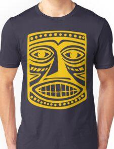 Tiki Mask II - Amber Unisex T-Shirt
