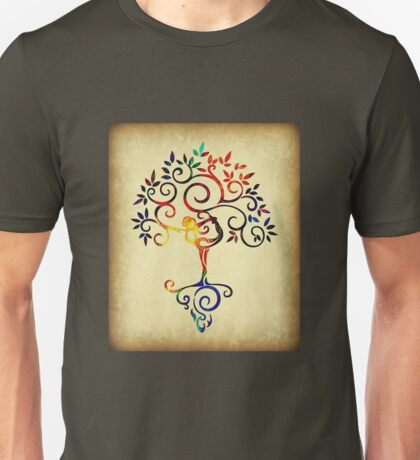 Yoga tree 2 Unisex T-Shirt