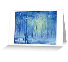 Fairy Fantasy Forest Greeting Card