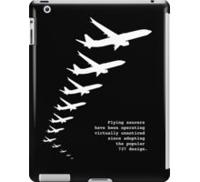 Flying Saucers as 737s iPad Case/Skin