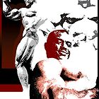Sergio Oliva by celebrityart