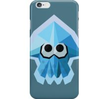 Splatoon Low-Poly Blue Squid iPhone Case/Skin