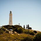 Picturesque Wadjemup Lighthouse by Janice Kho