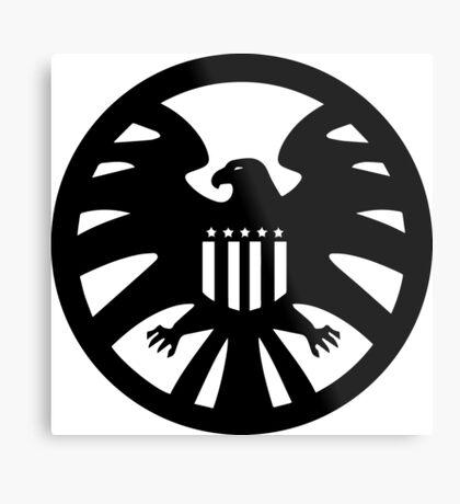 S.H.I.E.L.D. seal Metal Print