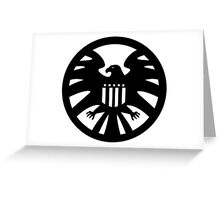 S.H.I.E.L.D. seal Greeting Card