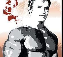 Arnold Schwarzenegger - Time To Get Serious by celebrityart