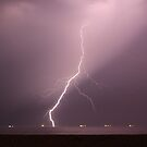 Lightning, Hayling Island, England   by Jane Burridge