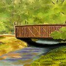 The Foot Bridge by debrosi