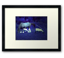GINNY AND HER FRIENDS Framed Print