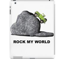 ROCK MY WORLD iPad Case/Skin