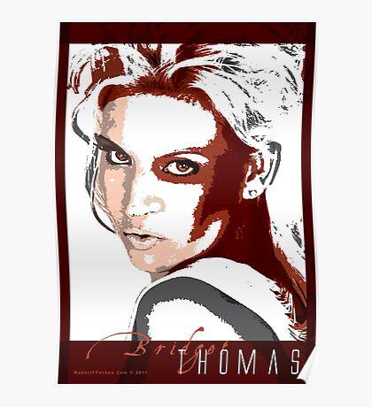 Model Bridget Thomas Poster
