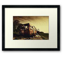 Off Road ii Framed Print