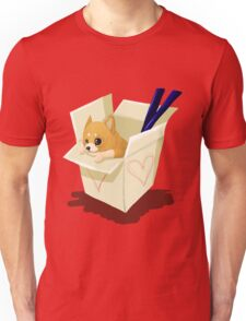 Take-out Puppy Unisex T-Shirt