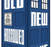 Something Old, New, Borrowed, Blue by DanielDison
