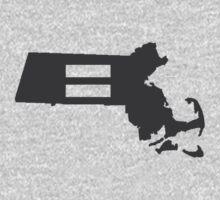 Massachusetts Equality One Piece - Long Sleeve