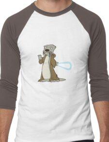 Otter-Wan Kenobi Men's Baseball ¾ T-Shirt