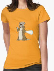 Otter-Wan Kenobi Womens Fitted T-Shirt