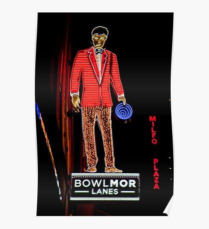 Bowlmor Lanes Poster