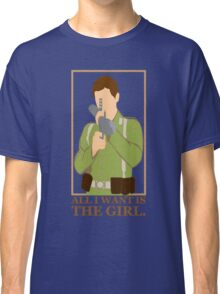 """Indiana Jones - """"All I Want is the Girl"""" Classic T-Shirt"""