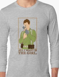 """Indiana Jones - """"All I Want is the Girl"""" Long Sleeve T-Shirt"""
