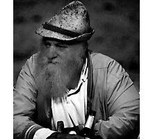 portrait of a swiss farmer Photographic Print