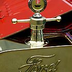 """A 1915 Model T ~ """"Motometer""""  which is a ~ Hood Ornament ~ Radiator Cap ~Temperature Gauge~ by Elaine Bawden"""