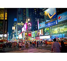 Pepsi Billboards - Times Square - NYC Photographic Print