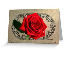 Stardust Rose ~ Look How You Shine! Greeting Card