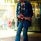 Times Square Street Performer by jscherr