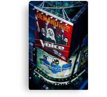 The Voice Canvas Print