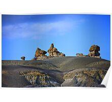Twilight Sculptures -  Badlands Poster